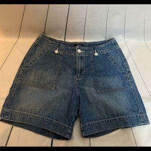 Chaps Denim Jean Shorts